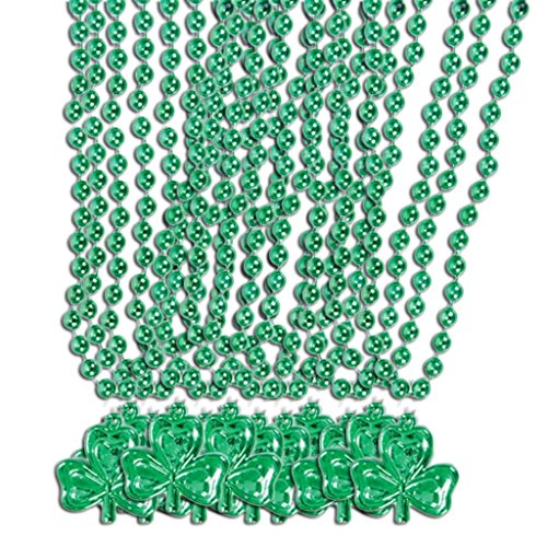St Patricks Day Beads Shamrock