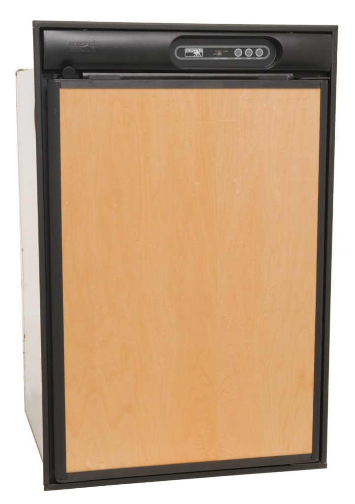 Norcold N412UL 4 cu. ft. 1 Door Refrigerator (2-Way AC/LP, Left Hand Door with Black Trim & Upper Door Handle)