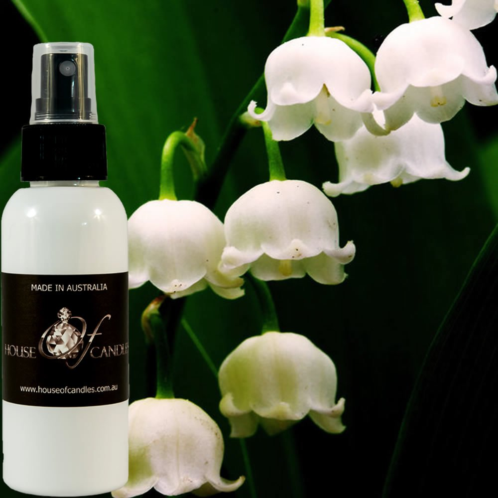 Lily Of The Valley Perfume Body Spray Deodorant Mist XSTRONG 50ml/1.7oz VEGAN & CRUELTY FREE House Of Candles