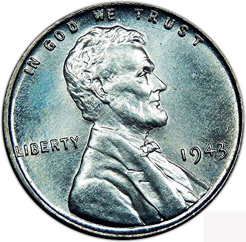 - 1943 P Lincoln Steel Cent .01 Brilliant Uncirculated