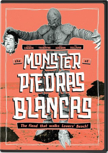 DVD : The Monster Of Piedras Blancas (DVD)