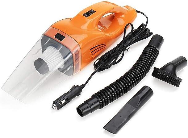 CCJW Potente Aspirador del Coche 120W Aspirador automático portátil húmedo y seco for los Coches, Pelo de Animales domésticos kshu: Amazon.es: Hogar