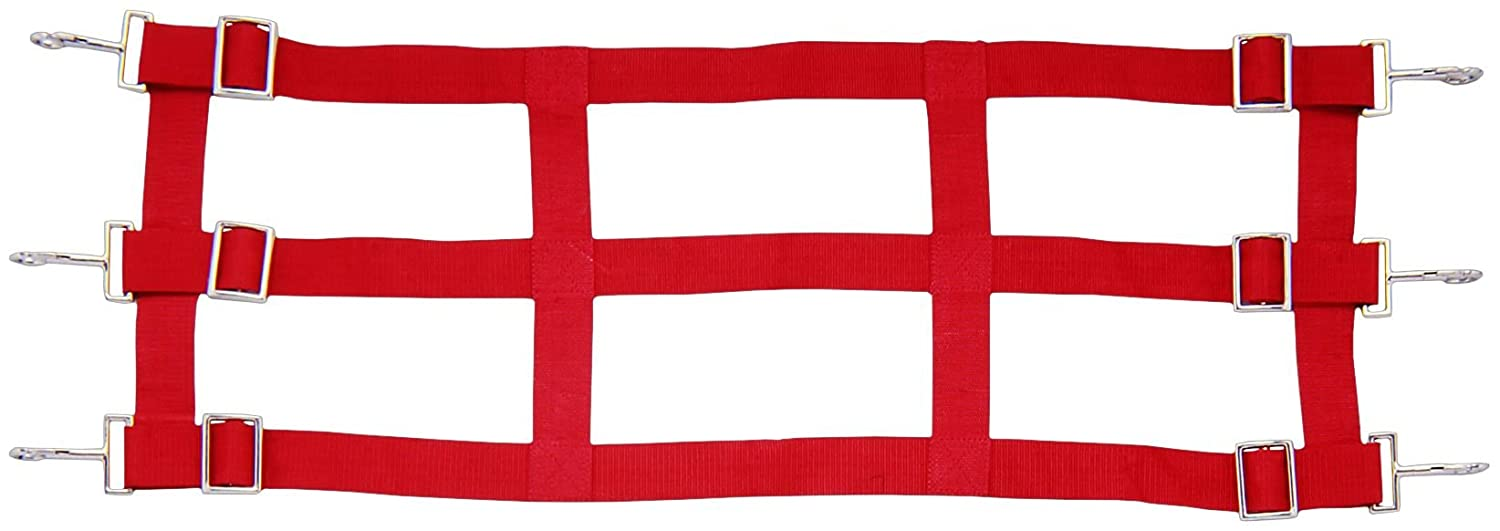 Red 36 To 48. Red 36 To 48. Tough 1 Nylon Stall Guard