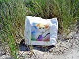 Painted Cat Tote Bag, Print From Original Watercolor Painting by Artist, Nancy M. Trombino