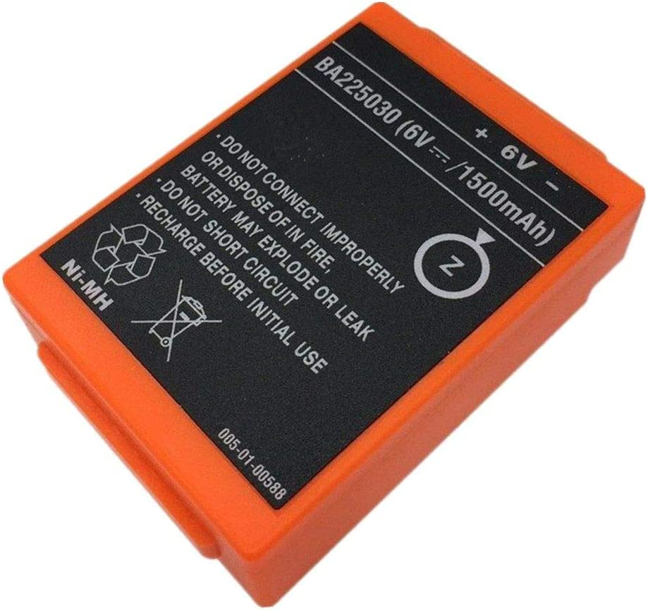 Bestome Bater/ía de Repuesto Compatible con HBC Remote Control Crane Truck Driving FUB 05AA Battery HBC FUB05AA FUB5AA FUB05XL BA225030 3.8V