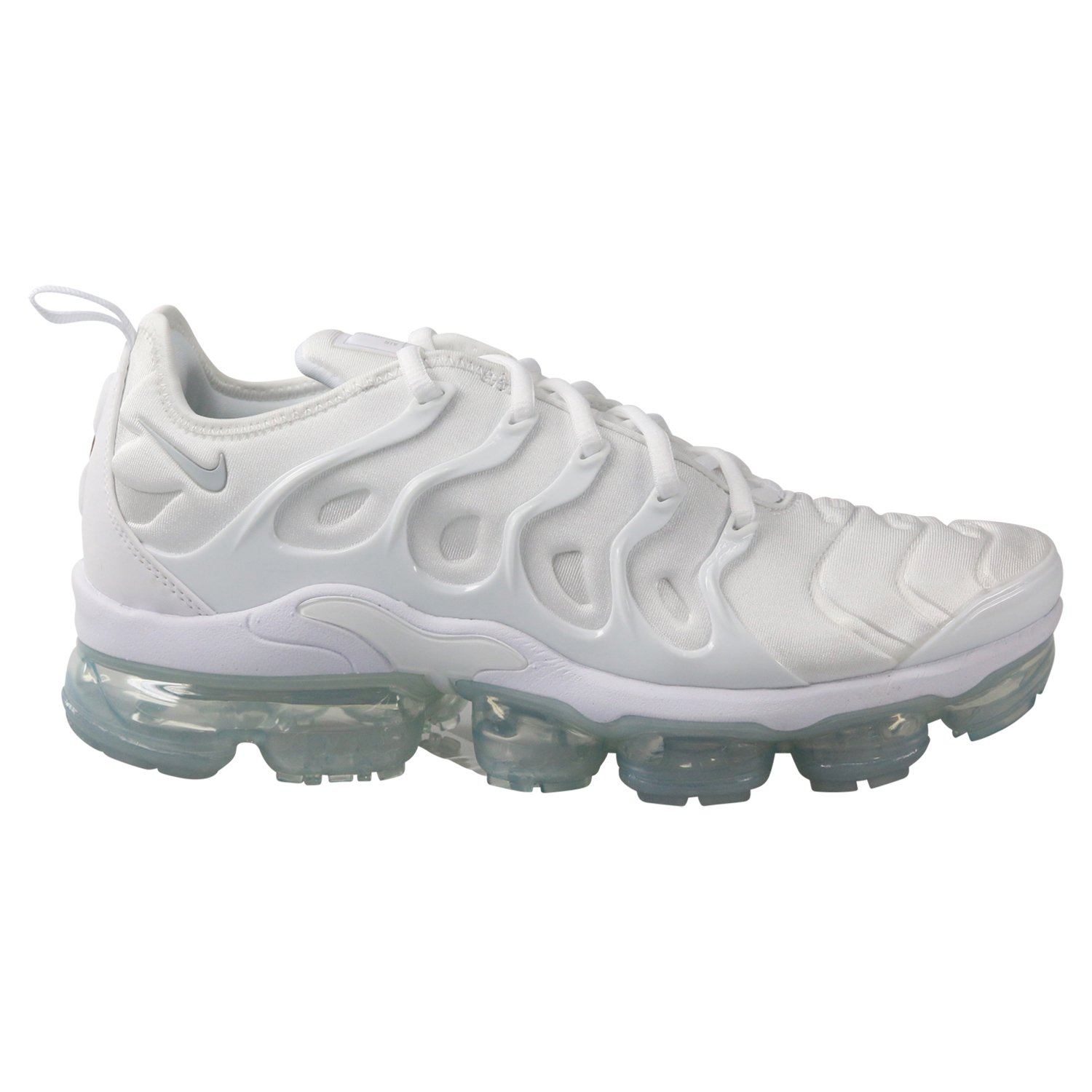 d928b779cb Galleon - NIKE Men's Air Vapormax Plus, White/Pure Platinum, 11.5 M US