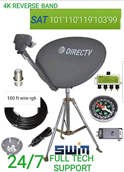 COMPLETE NEW DIRECTV ATT SLIMLINE KAKU 3 4K SL3 SATELLITE SWM3 DSWM3 LNB S-MOUNT