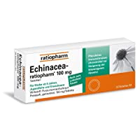 Echinacea Ratiopharm 100 mg Tabletten 20 stk