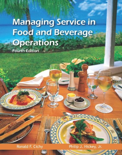 food and beverage operations - 5