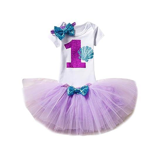 866303b39427 Amazon.com  Lanhui LanhuiSummer Cute Baby Kids Girl Dress Princess ...