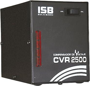 Industrias Sola Basic CVR-2500 - Regulador de voltaje (100-127 V ...