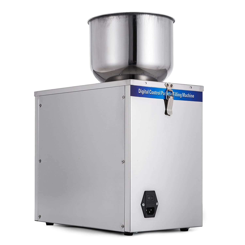 Mophorn 180 Watt halbautomatisches Partikelunterpaket Ger/ät 1-25g Partikel Pulver Unterpaket Wiegen /& F/üllmaschine 220 V 25g