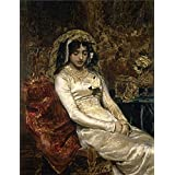 high quality polyster Canvas ,the Vivid Art Decorative Canvas Prints of oil painting 'Munoz Degrain Antonio Before the Wedding 1882 ', 20 x 26 inch / 51 x 66 cm is best for Study gallery art and Home artwork and Gifts