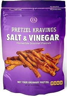 product image for Dakota Style Salt & Vinegar Pretzel Kravings, Crunchy Snack Pretzels, 10 Ounce, 5 Pack