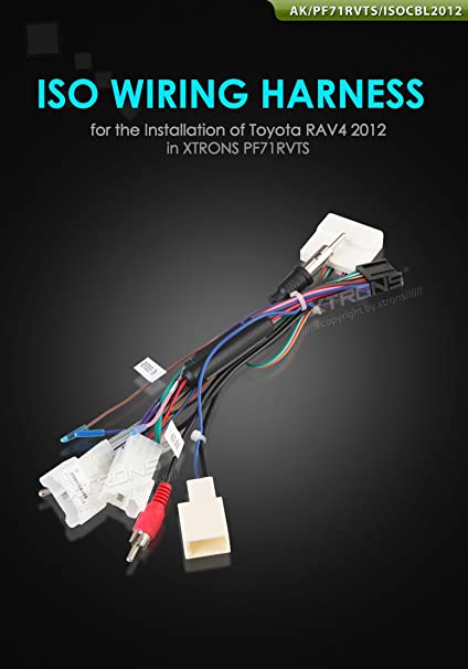 Toyota Iso Wiring Harness - Wiring Diagrams on