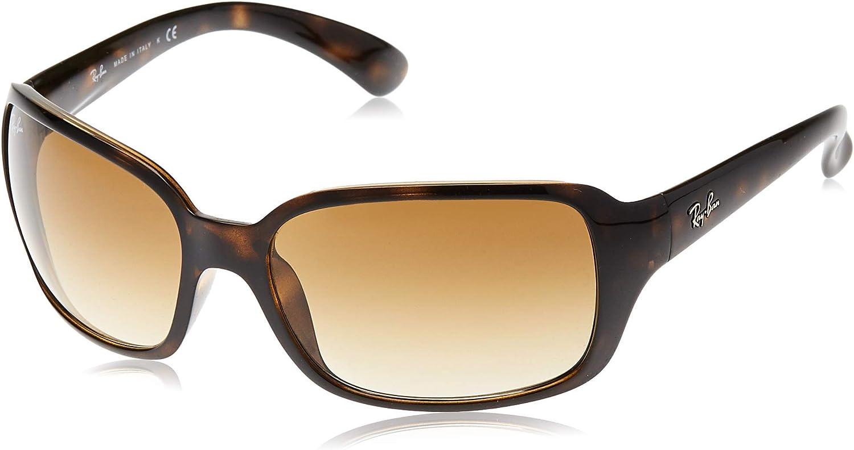 Ray-Ban Damen RB4068 Sonnenbrille Braun - Marken Sonnenbrillen Damen