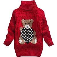 IEUUMLER Bebé una niña de Sweatershirt de Dibujos Animados, Lindo Jersey de Manga Larga IE001
