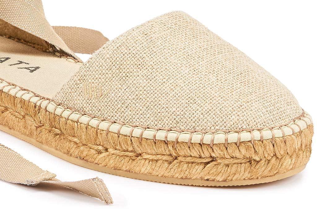 Viscata Barcelona CandellLinen - Alpargatas Mujer: Amazon.es: Zapatos y complementos