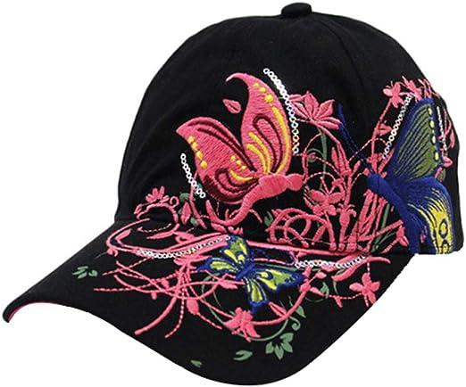 Gespout Gorras Sombreros Béisbol Paño para Niñas Mujer Vaquero ...