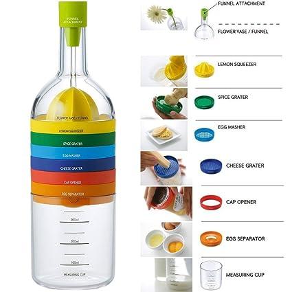 Locisne 8 en 1 herramienta de la cocina,su multifuncionalidad,recipiente de  plástico de dec16eef0f