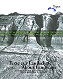 img - for About Landscape: Essays on design, style, time and space book / textbook / text book