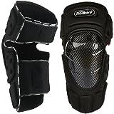 Madbike - Rodilleras protectoras de fibra de carbono para motos