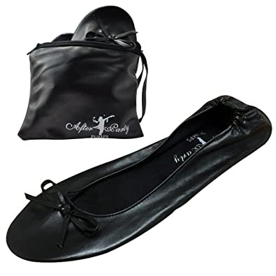 fd2d56b92db After Party Pumps Ladies Roll up Shoes Fold up Pumps with Carrier ...