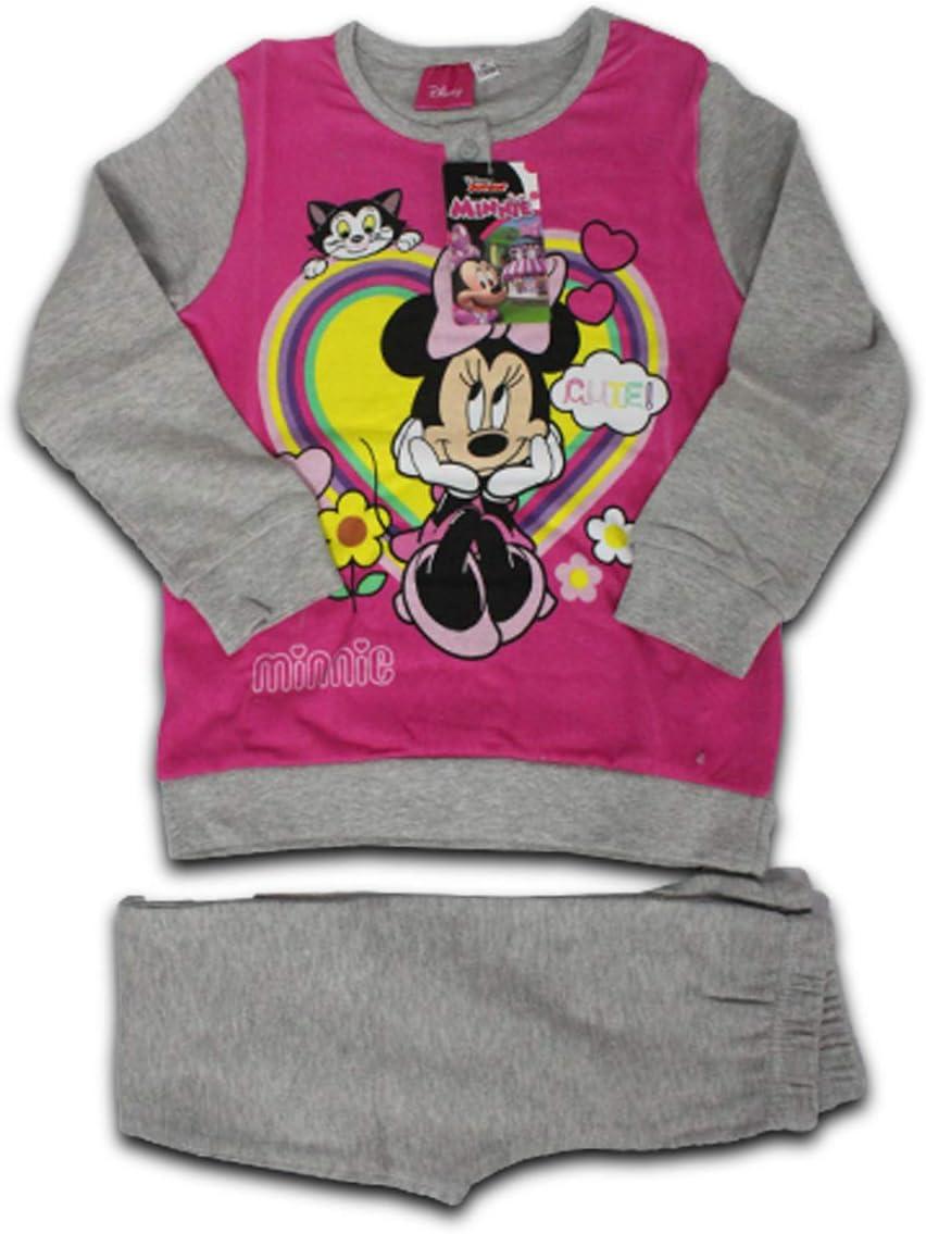 Russo Tessuti Pigiama Lungo Tuta Baby Bambino Topolino Mickey Mouse Caldo Cotone Vari Colori