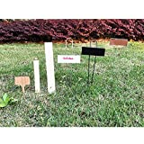 Copper Garden Labels Plant Markers Nursery Tags