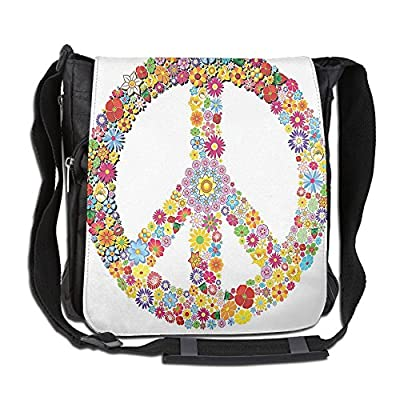 d2a1bb90e6a2 low-cost Lovebbag Floral Peace Sign Summer Spring Blooms Love ...