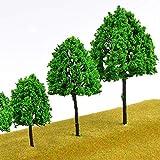 Hipatoo 32 Pcs Mixed Model Trees Fake Trees