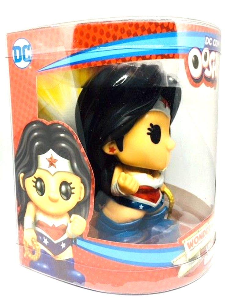 Ooshies DC Comics Series 1 Wonder Woman Deluxe 4-Inch Vinyl Edition