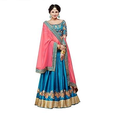 Amazon.com INDIAN LEHENGA CHOLI SARI SAREE GOWN BRIDAL