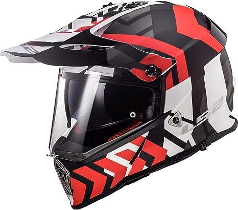 Amazon.com: LS2 Pioneer Xtreme - Casco de moto para adulto ...