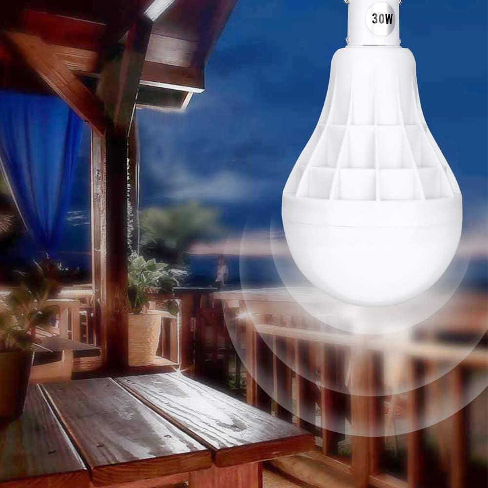 30W LED Night Light Dimmable Lampadina Di Emergenza Wireless Portatile USB Ricaricabile Tenda A Sospensione Con Gancio Per Campeggio All'aperto Pesca BBQ 3pcs