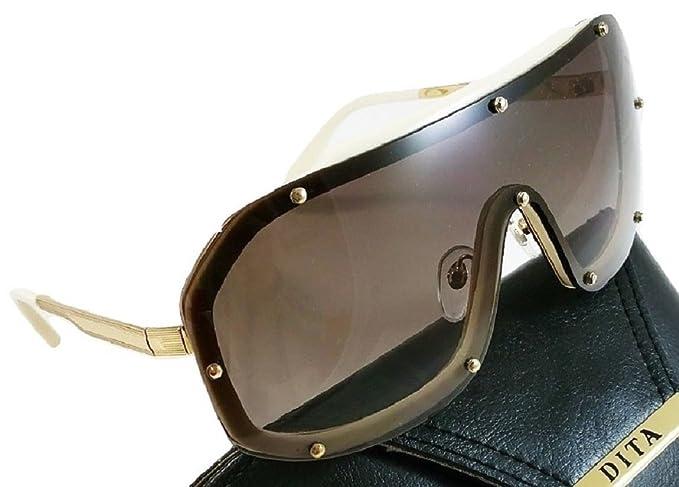Dita LASER 23004B Gafas de sol Montura dorada y blanca con ...