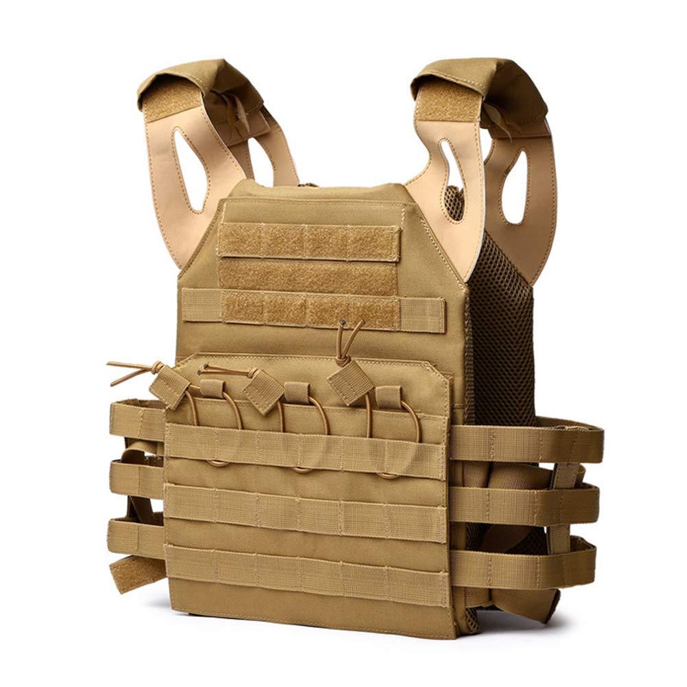 LXY&AI Militärische Taktische Weste - Cs-Feldschutz-Schutzausrüstung - Molle-Systemweste - Spezialeinheiten Multifunktions-Kampfweste Stichfeste Kleidung - DREI Farben Optional