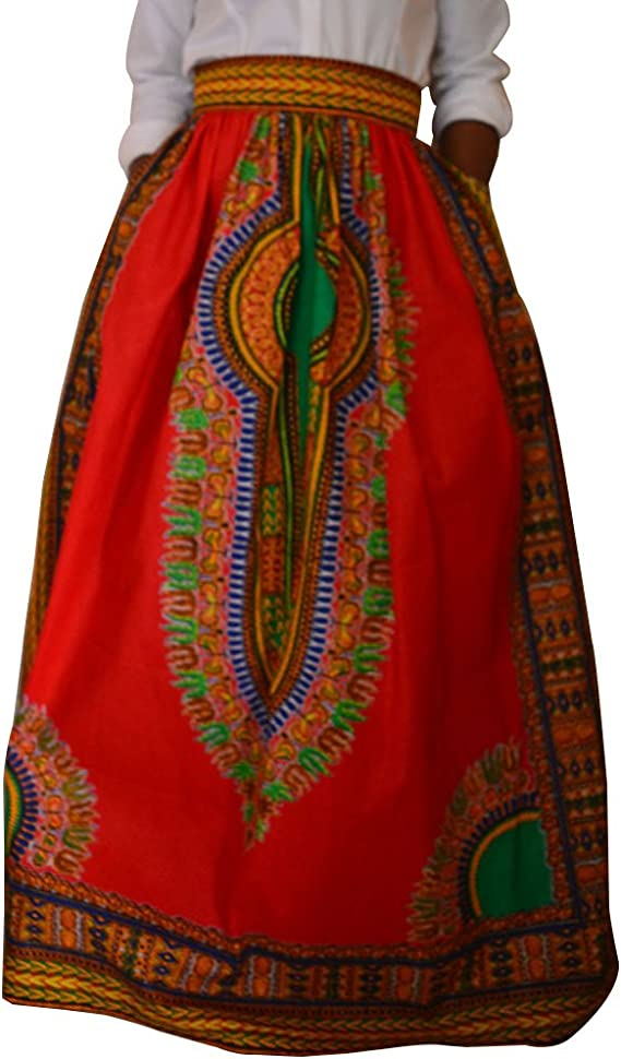 Falda Plisada para Mujeres Casual Maxi Faldas Largas De La Playa ...