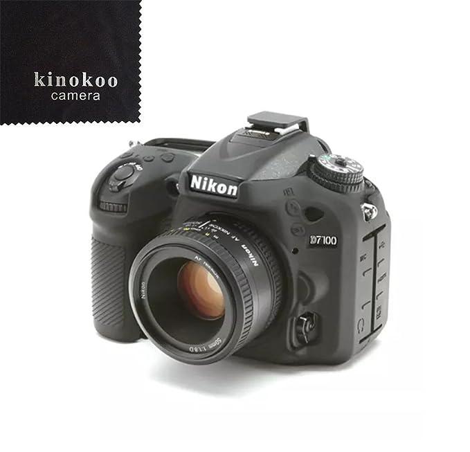Funda paracámara de silicona kinokoo para Nikon D7100 D7200 ...
