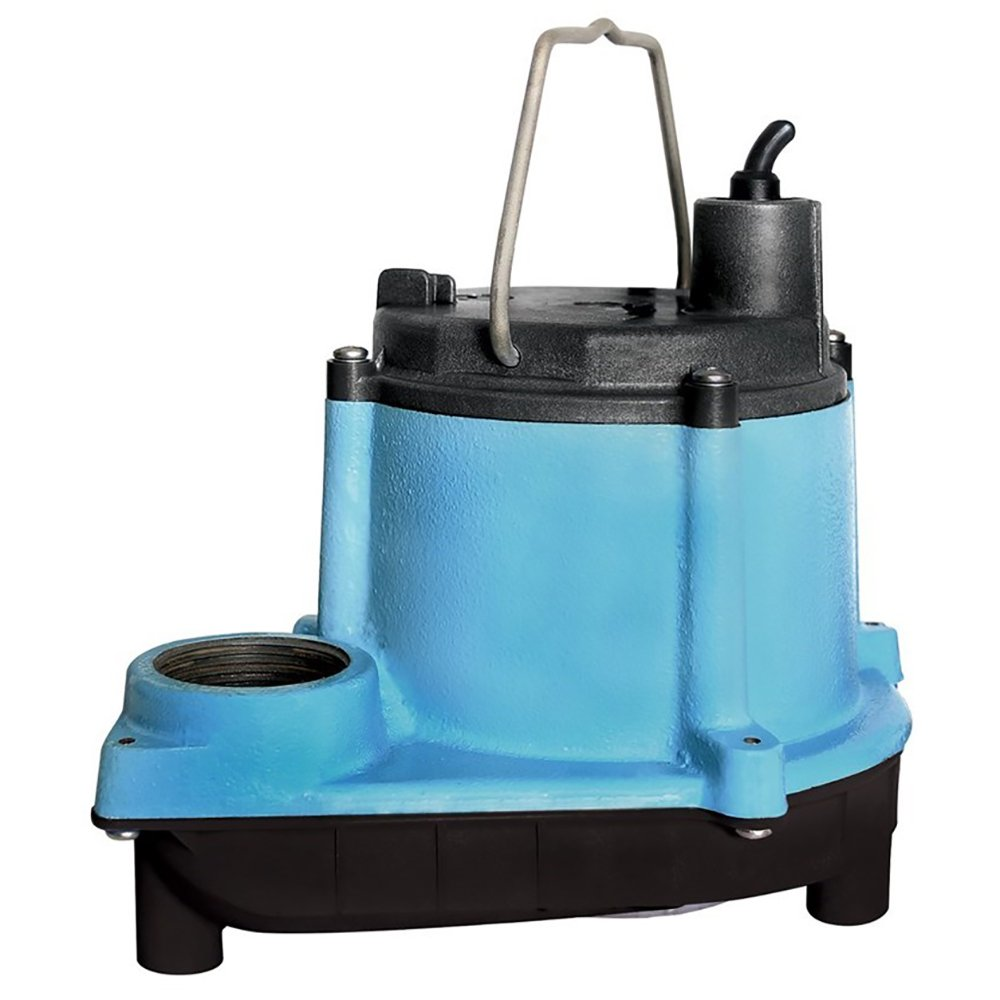 Little Giant GIDDS-521252 12393 1/3 HP Automatic Sump Pump, 2760 GPH, Blue by LITTLE GIANT