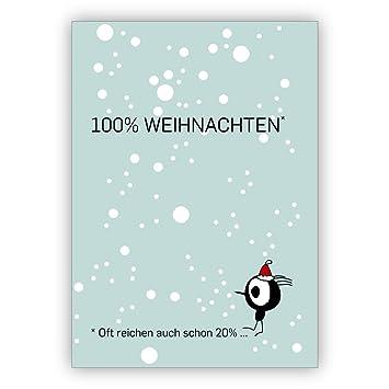 Schöne Spruch Weihnachtskarte Mit Vögelchen 100 Weihnachten Oft