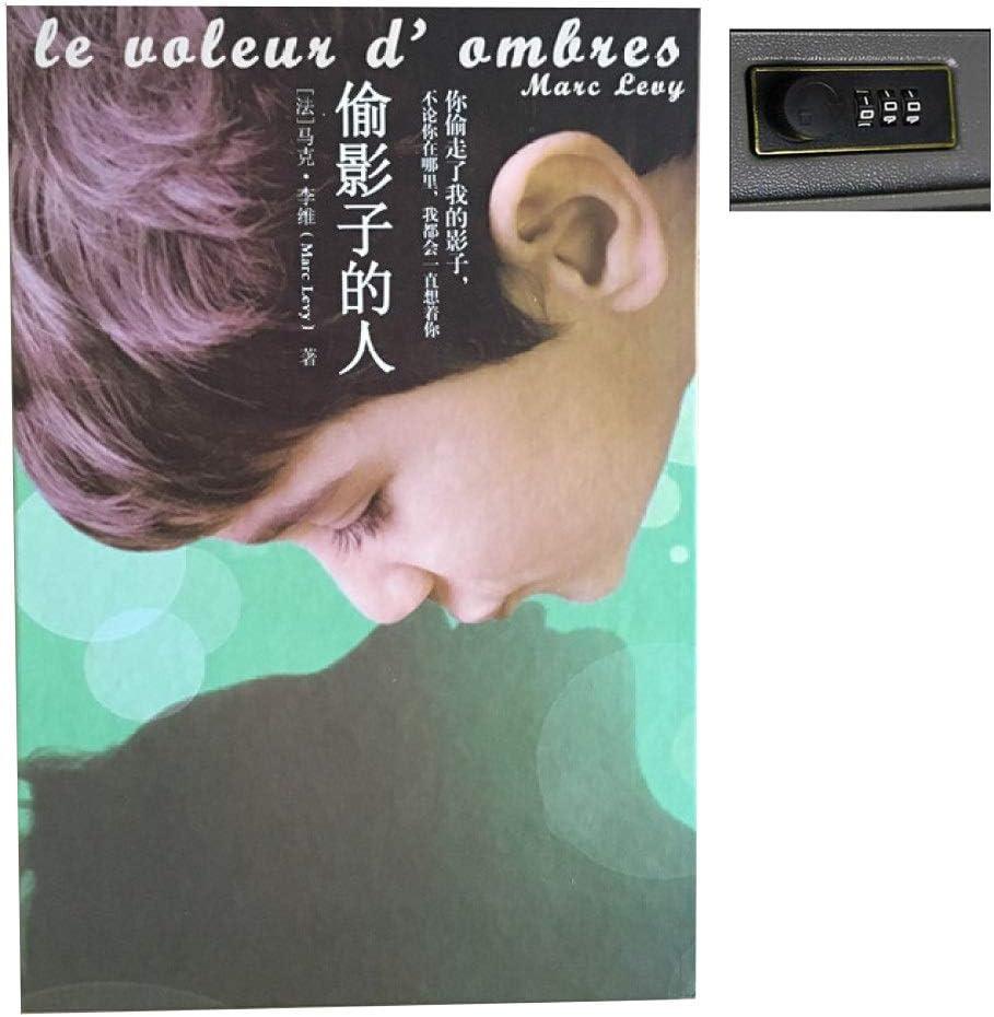 BOOKSAFEBOX Caja Fuerte De Libros Caja Fuerte Portátil Candado ...