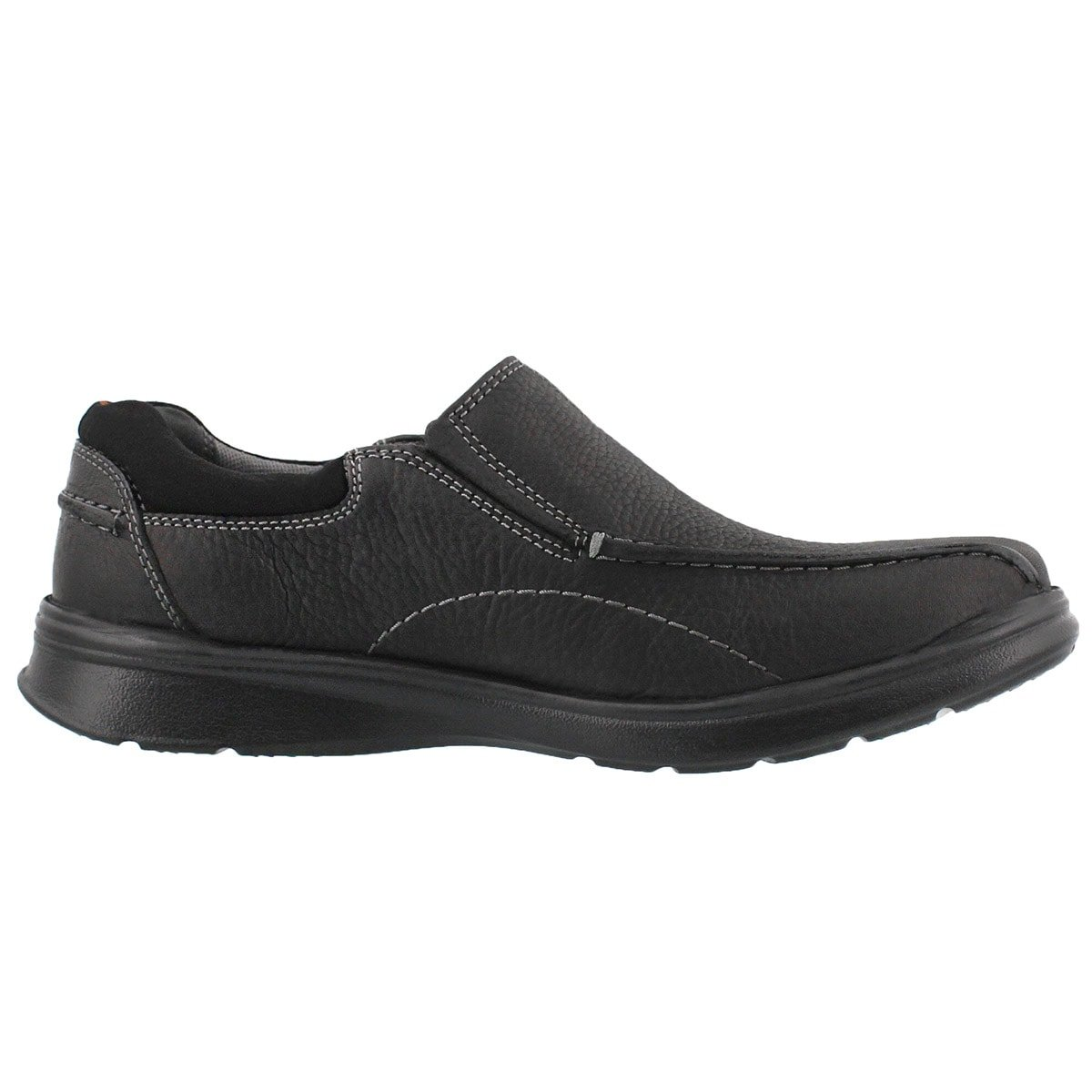 CLARKS Men's Cotrell Step Slip On Casual Loafer - Medium Black 10 W US by CLARKS (Image #4)