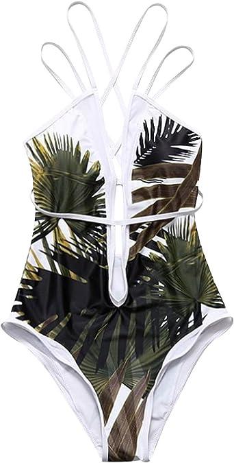 Plus Taille Femmes Robe de bain une pièce Maillot de bain Swimwear Beachwear Push Up Rembourré