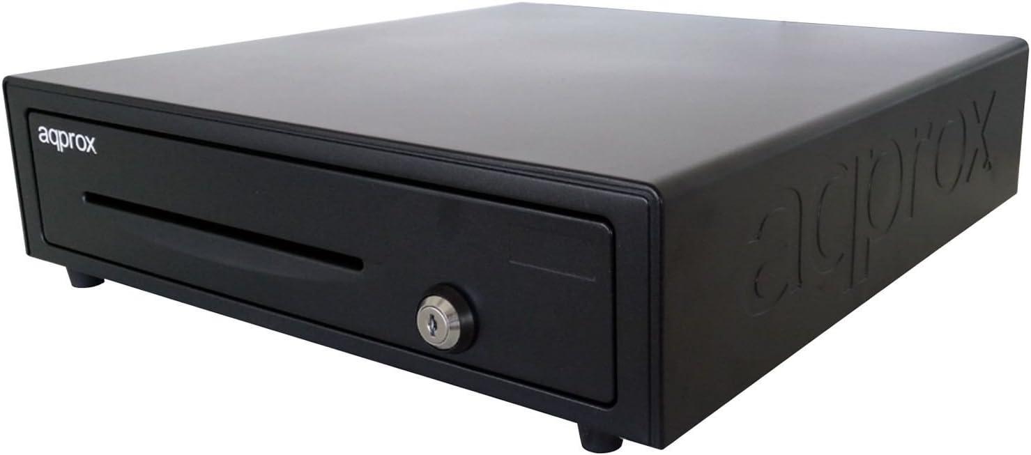 Approx APPCASH01 - Bandeja para dinero en efectivo (13 compartimentos), color negro