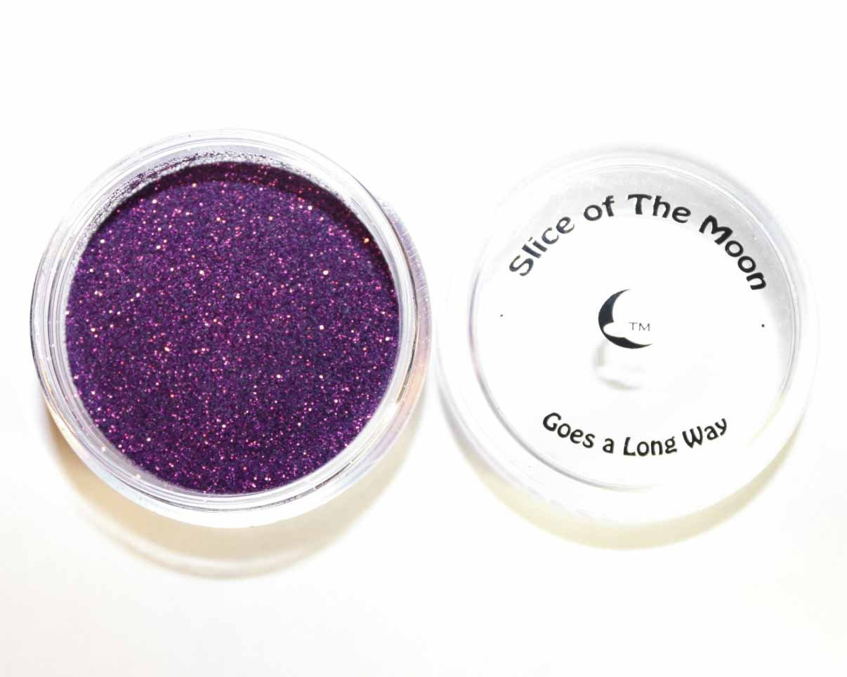 Holographic Purple Glitter Powder 15g – Non-solvent Glitter Powder, Slice of the Moon