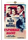 Espionage Agent [DVD]