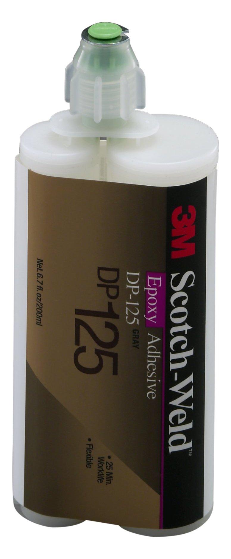 3M Scotch-Weld 87844 Epoxy Adhesive DP125, 200 mL, Gray, 6.763 fl. oz. by 3M Scotch-Weld