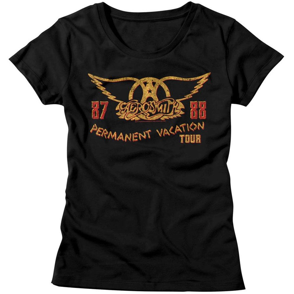 Retro Throwback,AEROSMITH Permanent Vacation Tour /'87 Tee Aerosmith T-Shirt