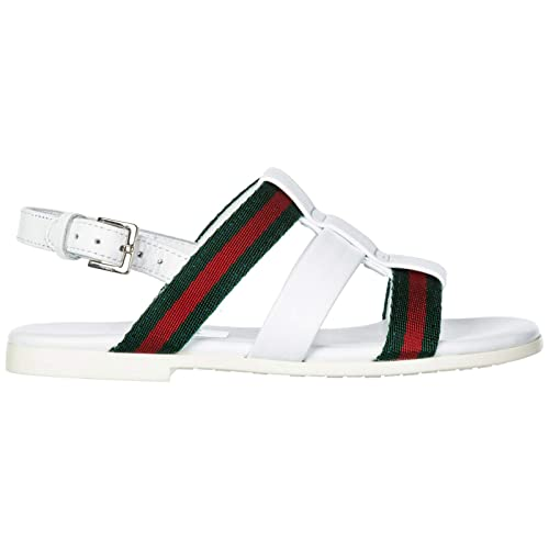 0c45d6ba087 Gucci Girls Sandals Child Leather White US Size 8.5C 340833ANB209061 ...